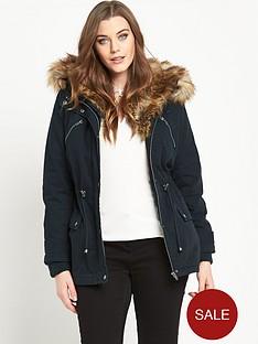 so-fabulous-cotton-twill-faux-fur-shawl-collar-parka