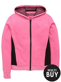freespirit-girls-fashion-basics-neon-zip-through-hoodie