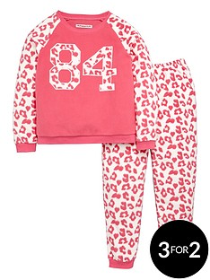 freespirit-girls-varsity-leopardnbsptwosienbsppyjamas