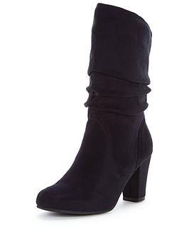 Head Over Heels Rhoda Slouch Calf Boot
