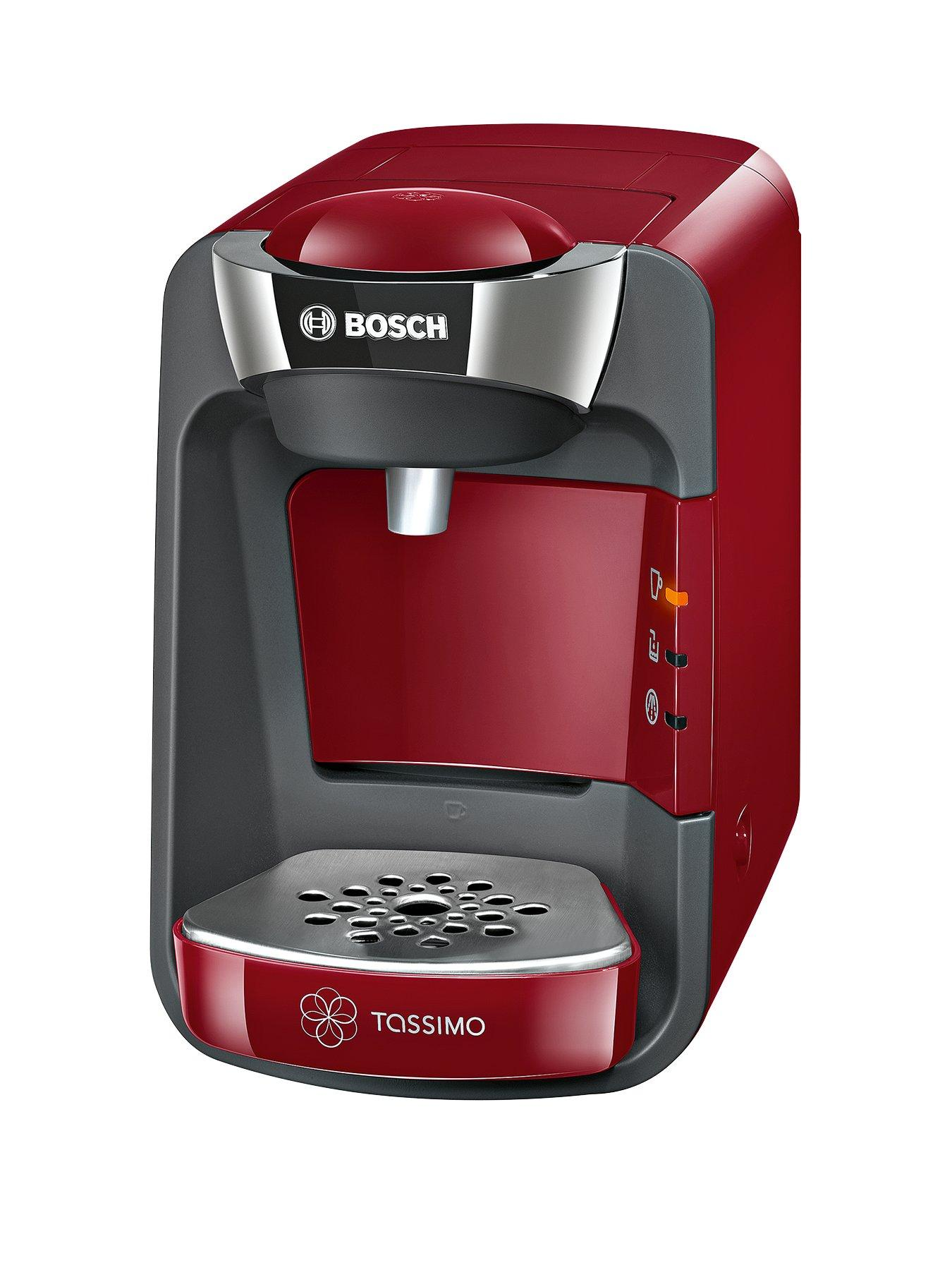 Exceptional Tassimo TAS3203GB Suny Coffee Maker   Red Images