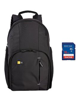 case-logic-dslr-compact-backpack-black-sandisk-sdhc-16gb-card-bundle