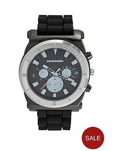 mckenzie-black-imitation-multi-dial-strap-mens-watch