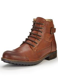 joe-browns-joe-browns-waxed-leather-army-boots