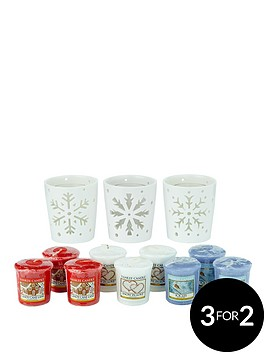 yankee-candle-winter-flurries-votive-holders-with-9-votives