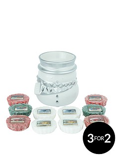 yankee-candle-fun-outside-snowman-melt-warmer-with-10-festive-classic-wax-melts