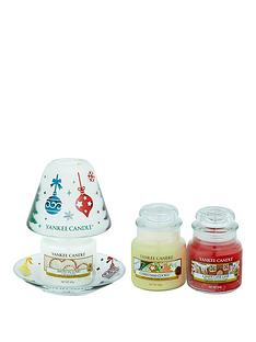 yankee-candle-deck-the-halls-small-shade-amp-tray-with-3-classic-small-jars