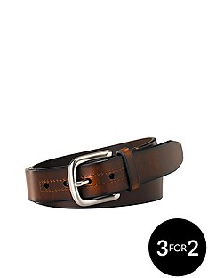 fossil-hanover-leather-belt
