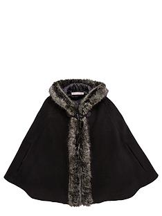 freespirit-girls-fauxnbspfur-trim-cape