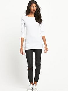 south-petite-crew-neck-34-sleeve-topnbsp