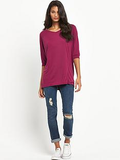 south-34-sleeve-casual-v-neck-topnbsp