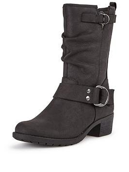 Hush Puppies Emelee Overton Leather Calf Boot