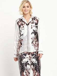 river-island-floral-long-sleeved-pyjama-shirt