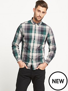 goodsouls-brushed-check-shirt-multi