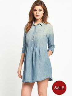 denim-supply-ralph-lauren-pintuck-dress