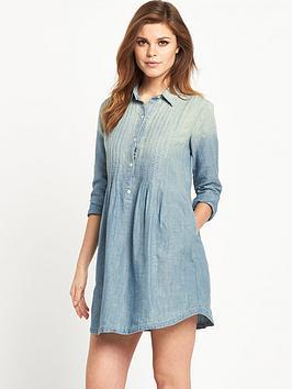 denim-supply-ralph-lauren-pintuck-dress