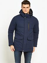 GOODSOULS PADDED JACKET NAVY