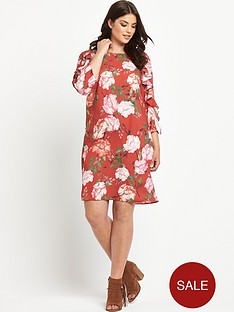 so-fabulous-frill-sleeve-shift-dress