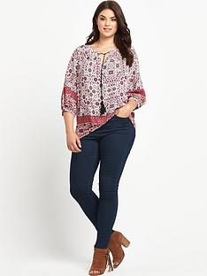 so-fabulous-print-boho-tassel-top
