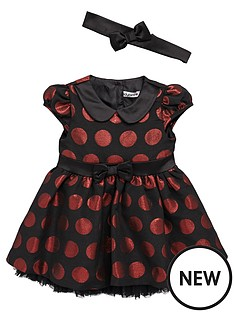ladybird-ladybird-baby-girls-spot-dress-with-headband