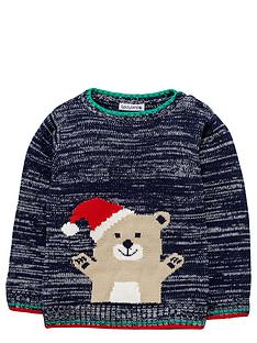 ladybird-baby-boys-knitted-teddy-christmas-jumper