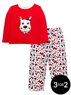 ladybird-girls-scottie-dog-pyjamas-with-sleepover-bag-12-months-7-years
