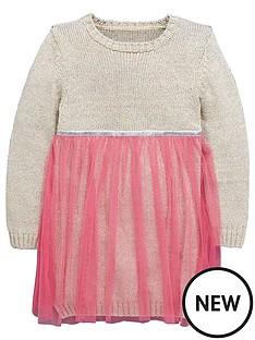 ladybird-toddler-girls-knitted-silver-lurex-dress-with-tutu-1-7-years