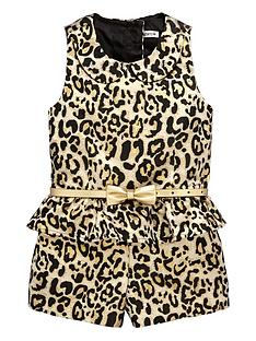 ladybird-girls-animal-print-peplumnbspplaysuitnbsp--12-months-7-years
