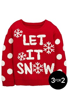ladybird-girls-christmas-let-it-snow-jumper-12-months-7-years