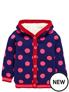 ladybird-girls-cosy-borg-lined-spot-cardigan-12-months-7-years