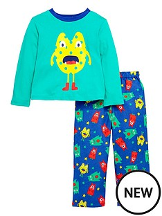 ladybird-boys-monster-pyjamas-with-sleepover-bag-12-months-7-years