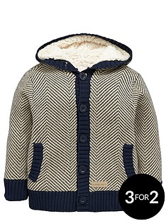 ladybird-boys-chevron-knit-cardigan-with-borg-lining-12-months-7-years