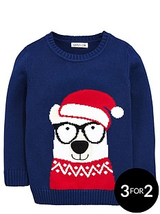 ladybird-boys-bear-in-santa-hat-jumper-12-months-7-years