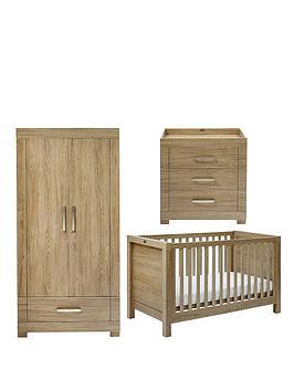 silver-cross-portobello-cot-bed-dresser-and-wardrobe