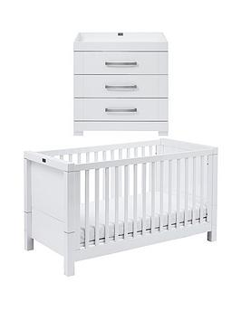 Silver Cross Silver Cross Notting Hill Cot Bed, Dresser Picture