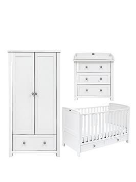 Silver Cross Nostalgia Cot Bed Dresser and Wardrobe