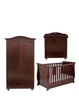 silver-cross-dorchester-sleigh-cot-bed-dresser-and-wardrobe