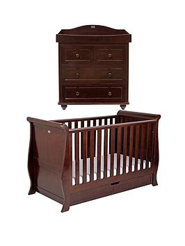 silver-cross-dorchester-cot-bed-and-dresser