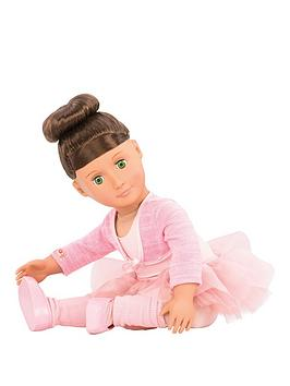 our-generation-sydney-lee-doll-with-book