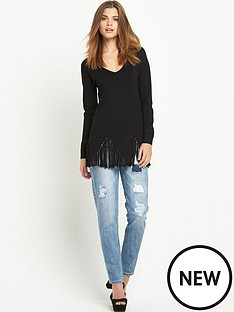 south-tassel-zignbspzag-hem-jumpernbsp