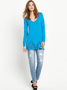 south-tassel-zignbspzag-hem-loose-fitting-jumper