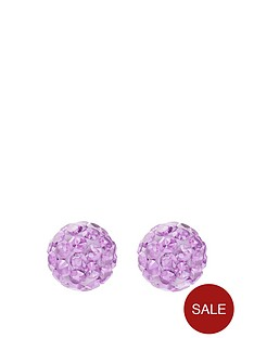 andralok-andralok-9-carat-yellow-gold-6mm-glitterball-crystal-stud-earrings