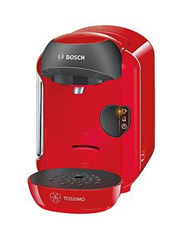 Tassimo Tas1253Gb Vivy Coffee Machine  Red