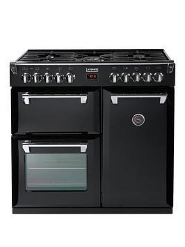 stoves-richmond-900dft-90cmnbspwide-dual-fuel-range-cooker-black