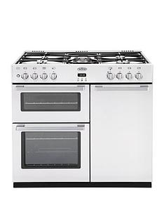 belling-db4-90gt-90cm-dual-fuel-range-cooker--white