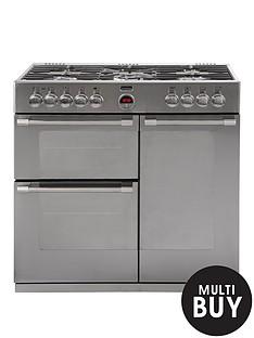 stoves-sterlingnbsp900dft-90cm-dual-fuel-range-cooker-stainless-steel