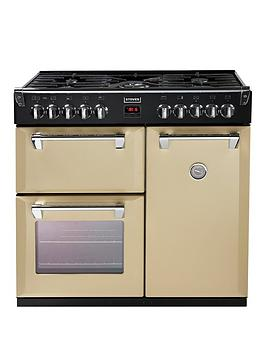 stoves-richmond-900dft-90cm-dual-fuel-range-cooker-with-connection-champagne