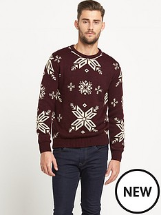 goodsouls-snowflake-christmas-jumper