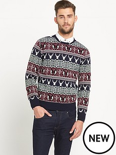 goodsouls-festive-fairisle-mens-christmas-jumper
