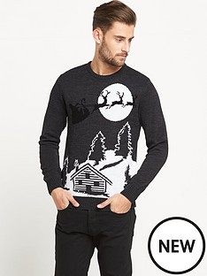 goodsouls-winter-scene-mens-christmas-jumper